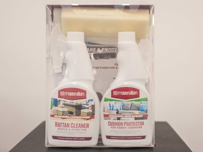 Product photograph showing Cleaning Kit For Rattan And Cushion Protector