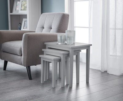 Product photograph showing Cleo Nest Of Tables