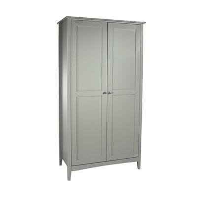 Product photograph showing Como 2 Door Wardrobe