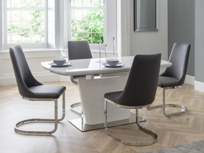 Product photograph showing Como Extending Table