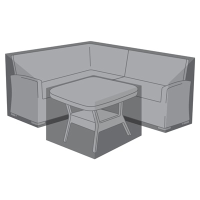 Product photograph showing Corner Dining Set Cover - Cambridge Compact