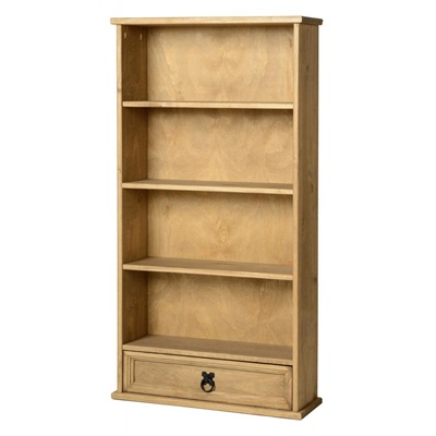 Product photograph showing Corona Dvd Unit With 1 Drawer And 4 Shelves