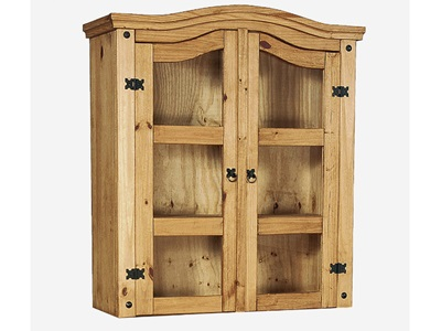 Product photograph showing Corona Hutch 2 Doors
