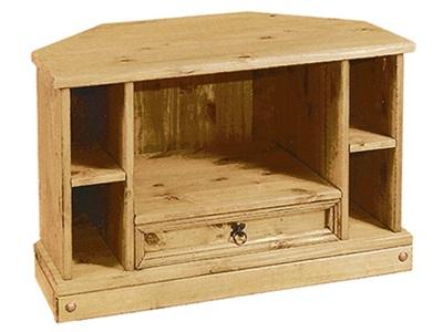Product photograph showing Corona Tv Cabinet Corner