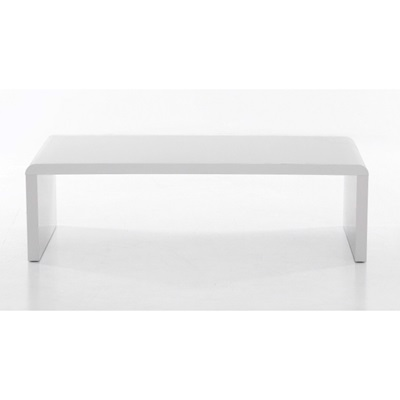 Product photograph showing Cutler High Gloss Coffee Table White