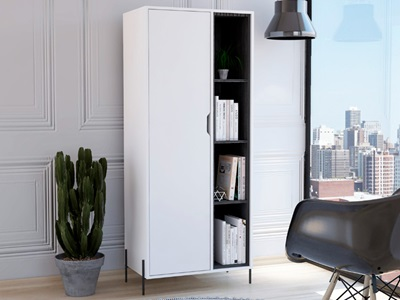 Product photograph showing Dallas Bookcase Display Unit