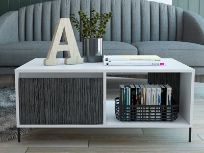 Product photograph showing Dallas Coffee Table
