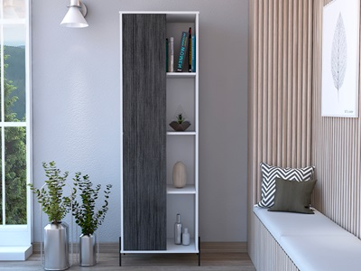 Product photograph showing Dallas Tall Storage Display Cabinet
