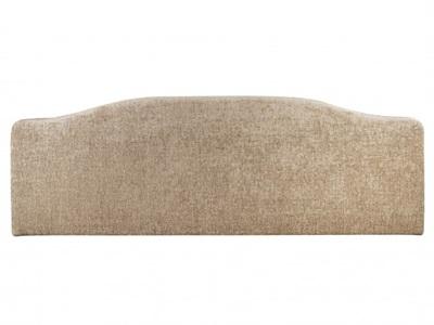 Serene Furnishings Daphne Cream/Fudge 6 Super King Fudge Fabric Headboard