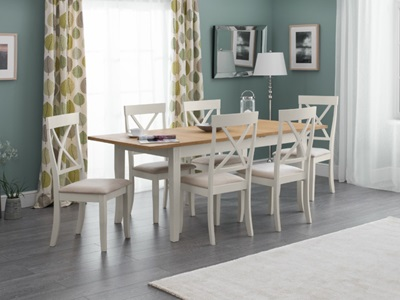 Product photograph showing Davenport Extending Dining Table