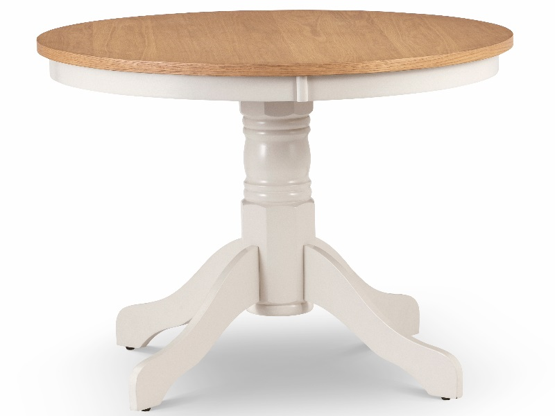 Product photograph showing Davenport Round Pedestal Table