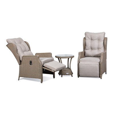 Product photograph showing Skylar Deluxe Reclining Companion Set