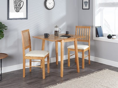 Product photograph showing Drop Leaf Dining Set