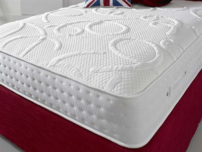 Shire Beds Eco Champion 3 Single Pocket Sprung Mattress Mattress