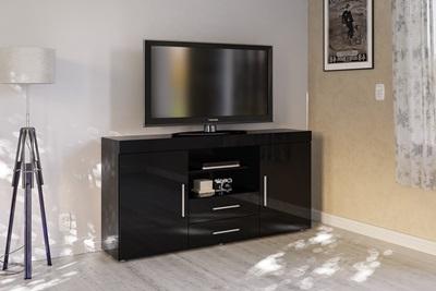 Product photograph showing Edgeware 2 Door 2 Drawer Sideboard