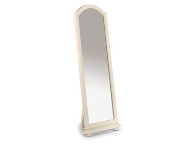 Julian Bowen Josephine Cheval Mirror Stone White Mirror