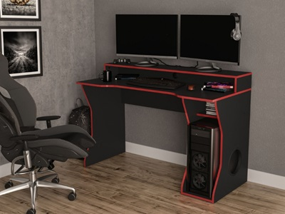 Product photograph showing Enzo Gaming Computer Desk