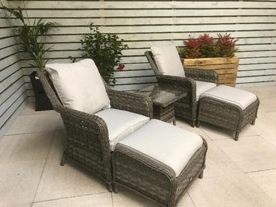 Product photograph showing Mia 5 Piece Lounge Set