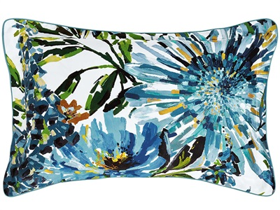 Floreale Pillow Case Oxford Ocean