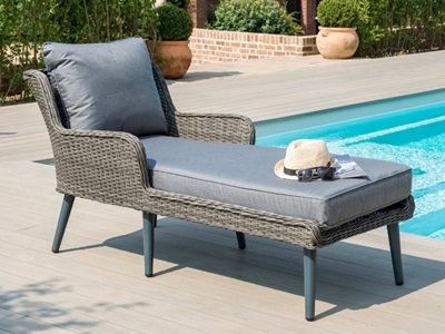 Product photograph showing Florence Sunlounger