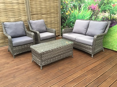 Product photograph showing Mia 4 Seater Sofa Set