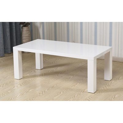 Product photograph showing Foxley Coffee Table High Gloss White