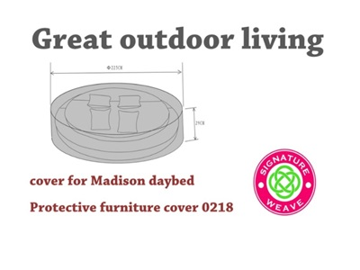 Product photograph showing Furniture Cover - Madison Daybed