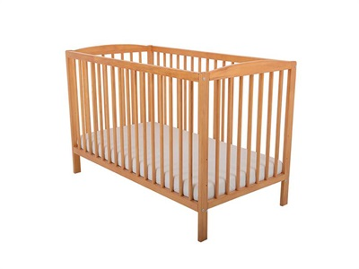 East Coast Nursery Denver Cot in Antique Cot Bed