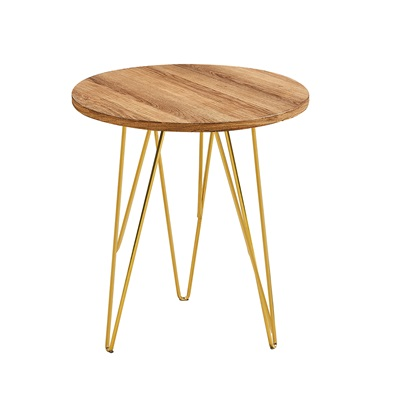 Product photograph showing Fusion Lamp Table Wood