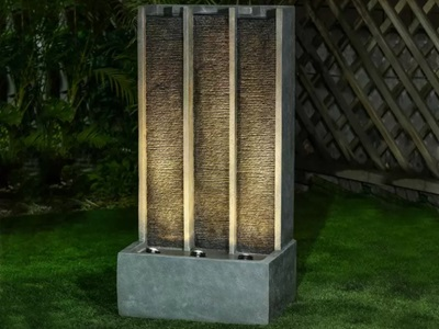 Product photograph showing Galen Water Feature