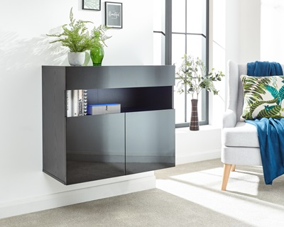 Product photograph showing Galicia Sideboard With Led