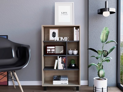 Product photograph showing Harvard Display Bookcase