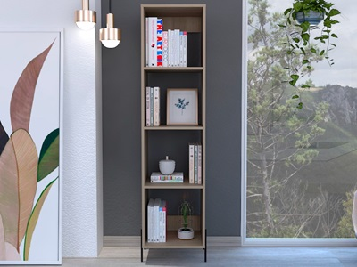 Product photograph showing Harvard Narrow Bookcase