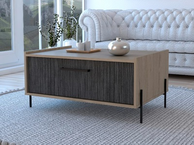 Product photograph showing Harvard Storage Coffee Table