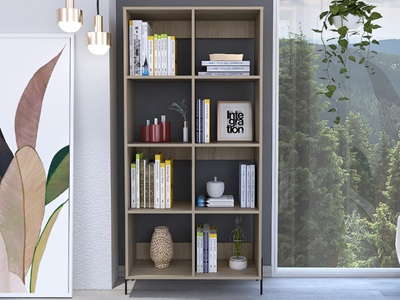 Product photograph showing Harvard Wide Bookcase