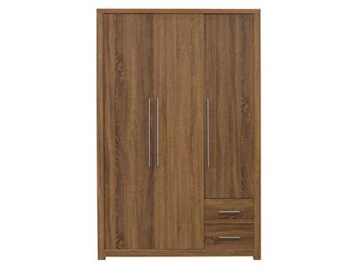 GFW Havana 3 Door Wardrobe Bedroom Furniture