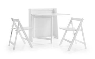 Product photograph showing Helsinki Compact Folding Dining Set