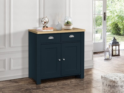 Product photograph showing Highgate 2 Door 2 Drawer Sideboard