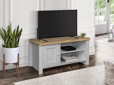 Product photograph showing Highgate Small Tv Unit