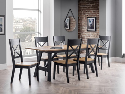 Product photograph showing Hockley Dining Table