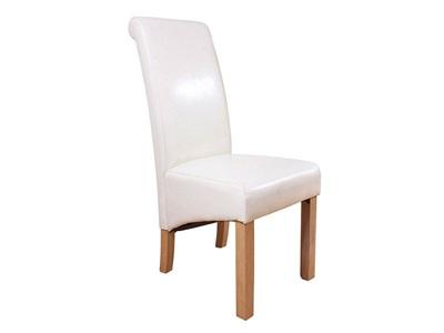 GFW Hudson Dining Chair Red faux Chair