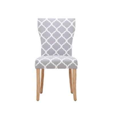 Product photograph showing Hugo Dining Chair Patterned 2pk