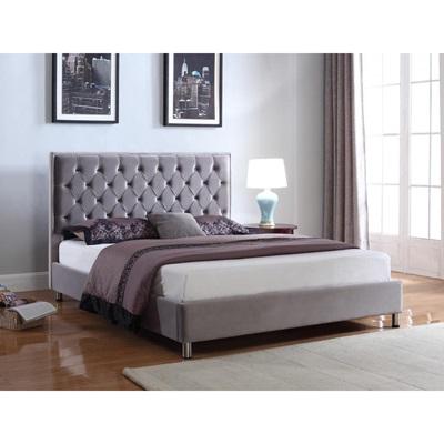 Product photograph showing Izabel Velvet Bed