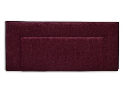New Design Jodie - Aubergine 2 6 Small Single Aubergine Chenille Fabric Headboard