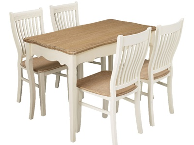 Product photograph showing Juliette Dining Table
