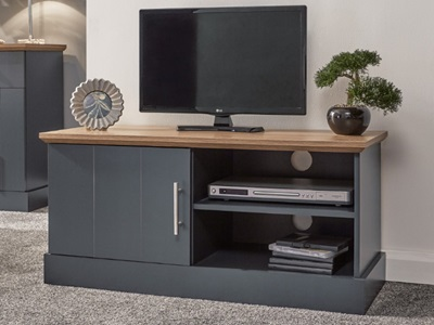 Product photograph showing Kendal Small Tv Unit