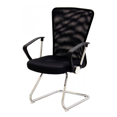 Product photograph showing Keswick Office Chair Black And Charcoal