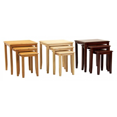 Product photograph showing Kingfisher Nest Of Tables