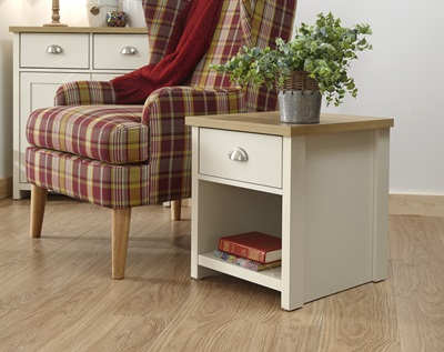 Product photograph showing Lancaster Lamp Table