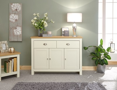 Product photograph showing Lancaster Large Sideboard